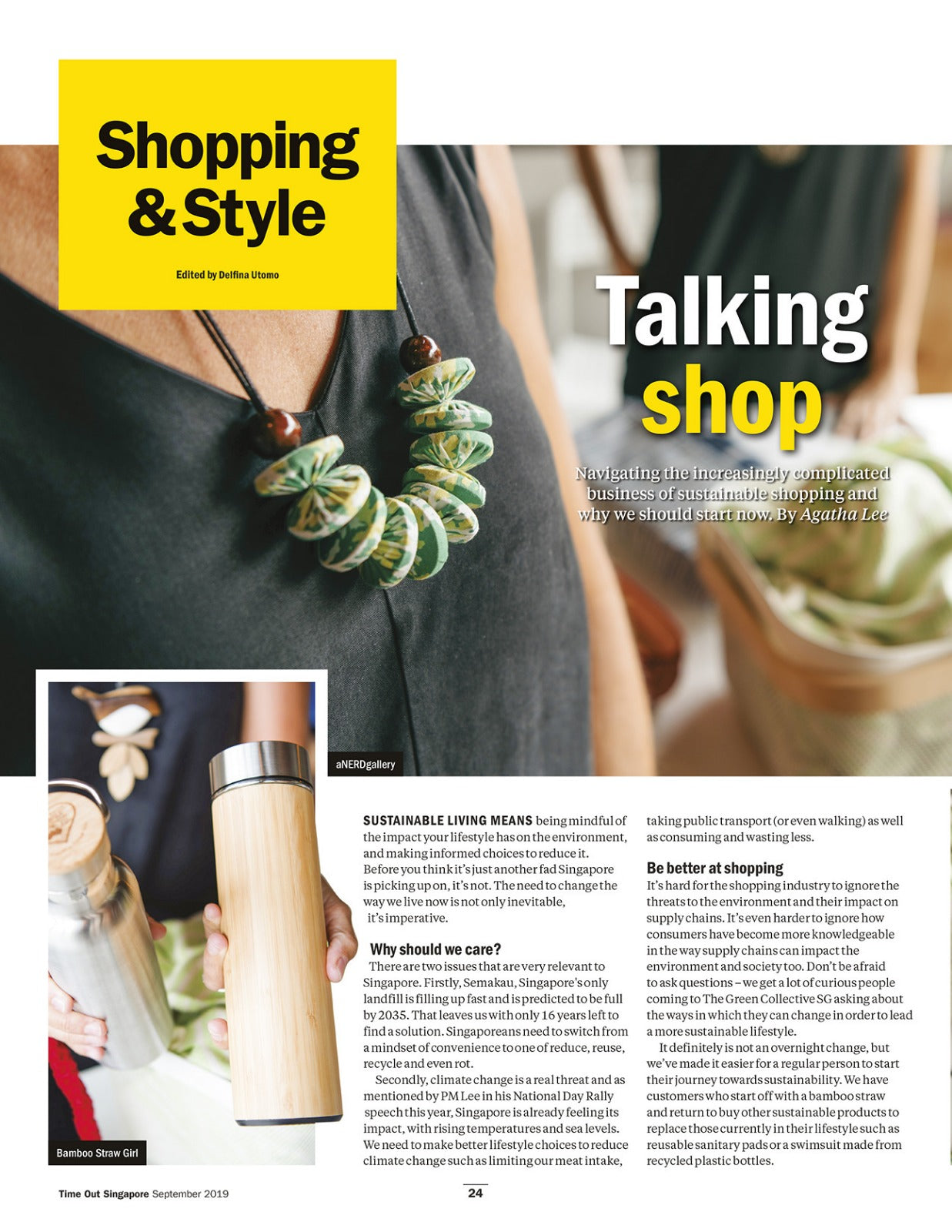 Time Out Singapore Sustainable Shopping Guide page 1