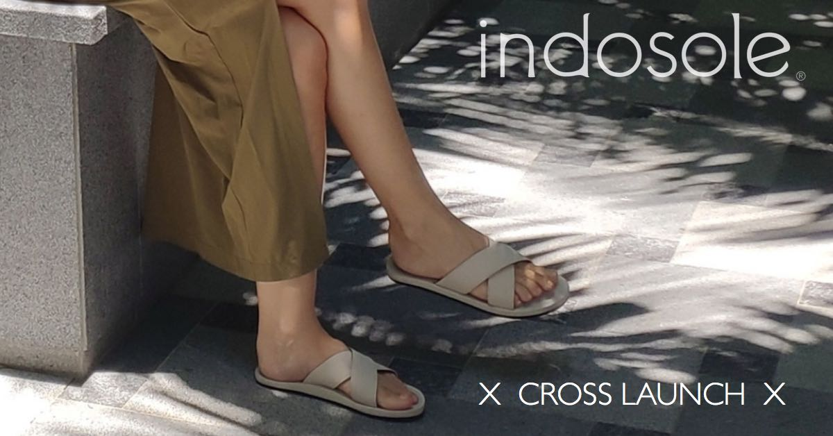 Indosole Cross Waterproof Sandal launched in Singapore