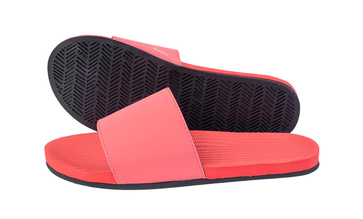 Women's Slides - Coral - LTD EDT