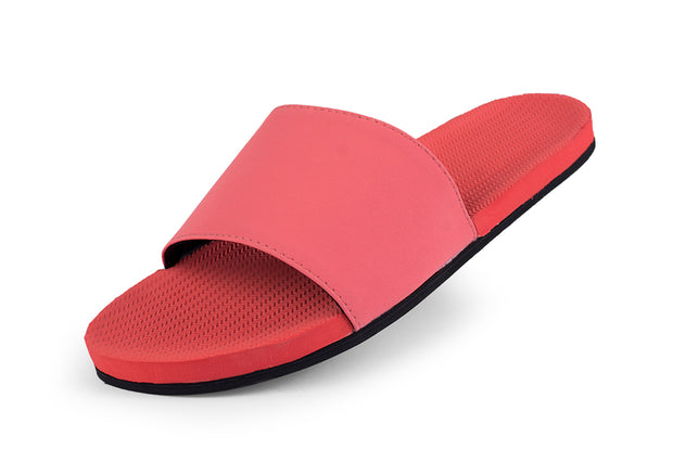 Women's ESSNTLS Slides - Coral - Ltd Edt