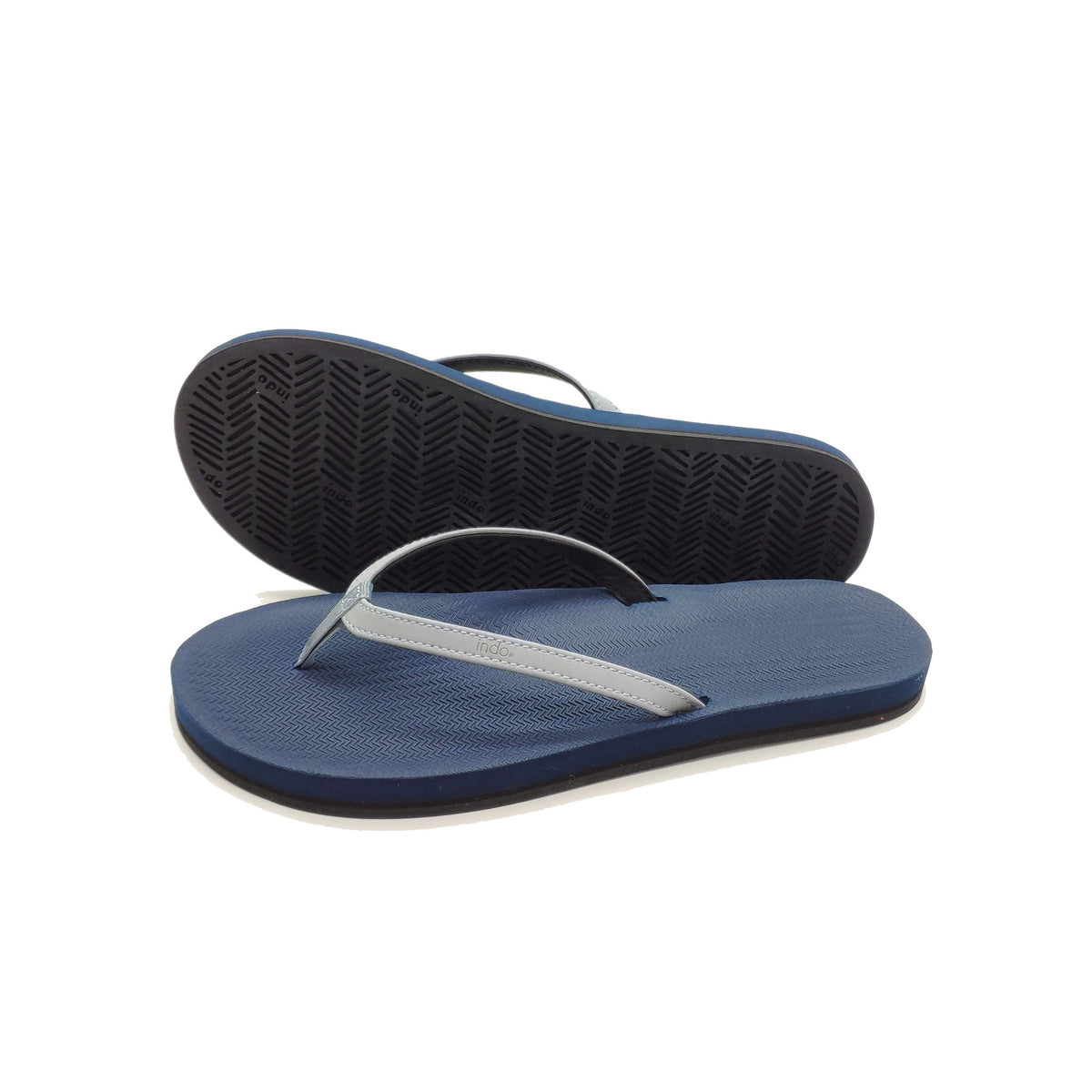 Women's Flip Flops Colour Combo Shore/Shore Light - Lightweight, durable, waterproof, comfortable. Sustainably made vegan shoes using natural rubber and recycled tires