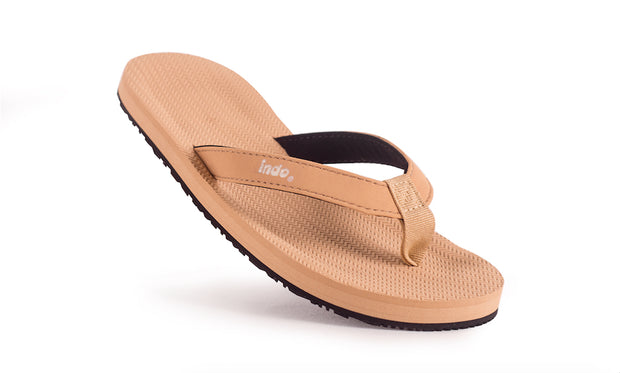 Grom's ESSNTLS Flip Flops - Soil Light