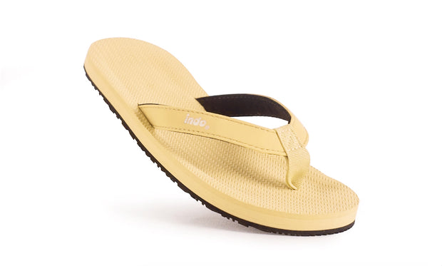 Grom's Flip Flops Pollen - Lightweight, durable, waterproof, comfortable. Sustainably made vegan shoes using natural rubber and recycled tires