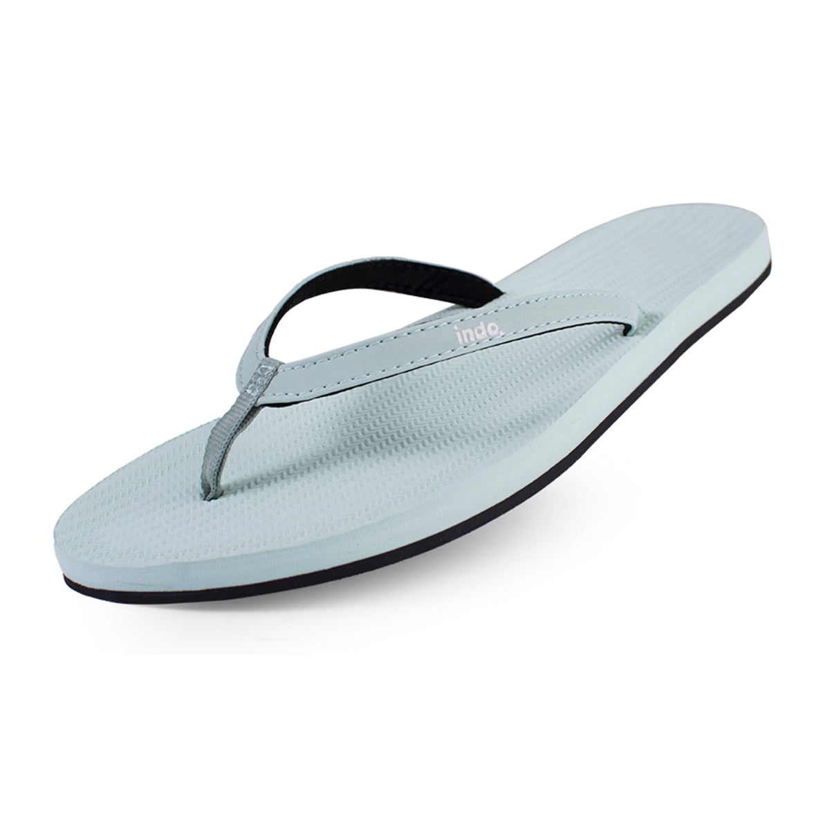 Women's Flip Flops Light Leaf - Lightweight, durable, waterproof, comfortable. Sustainably made vegan shoes using natural rubber and recycled tires