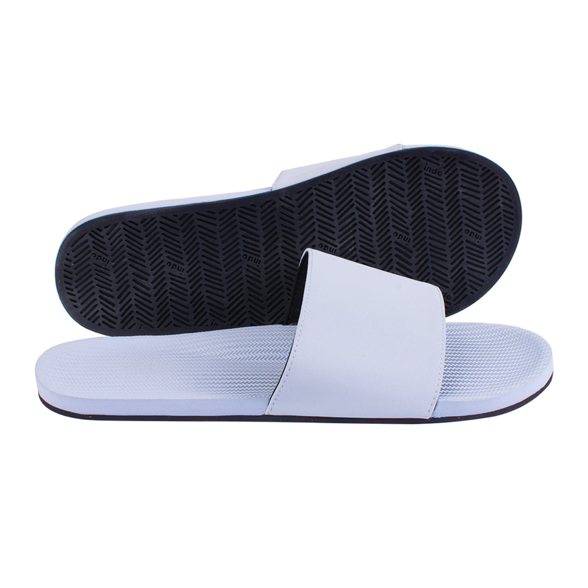 Men's Slides Light Shore - Lightweight, durable, waterproof, comfortable. Sustainably made vegan shoes using natural rubber and recycled tires