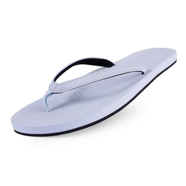 Women's Flip Flops Light Shore - Lightweight, durable, waterproof, comfortable. Sustainably made vegan shoes using natural rubber and recycled tires