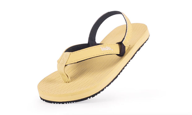 Toddler's flip flops Pollen - Lightweight, durable, waterproof, comfortable. Sustainably made vegan shoes using natural rubber and recycled tires