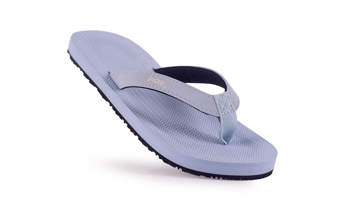 Grom's Flip Flops Light Shore - Lightweight, durable, waterproof, comfortable. Sustainably made vegan shoes using natural rubber and recycled tires