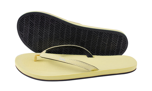 Women's Flip Flops - Yellow - LTD EDT