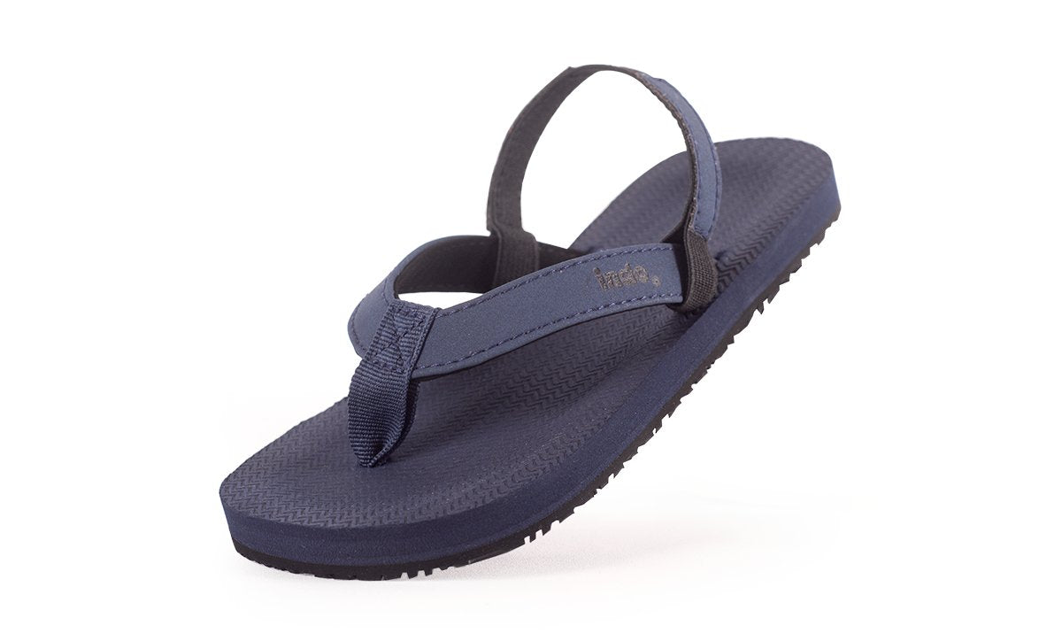 Toddler's Flip Flops Shore - Lightweight, durable, waterproof, comfortable. Sustainably made vegan shoes using natural rubber and recycled tires