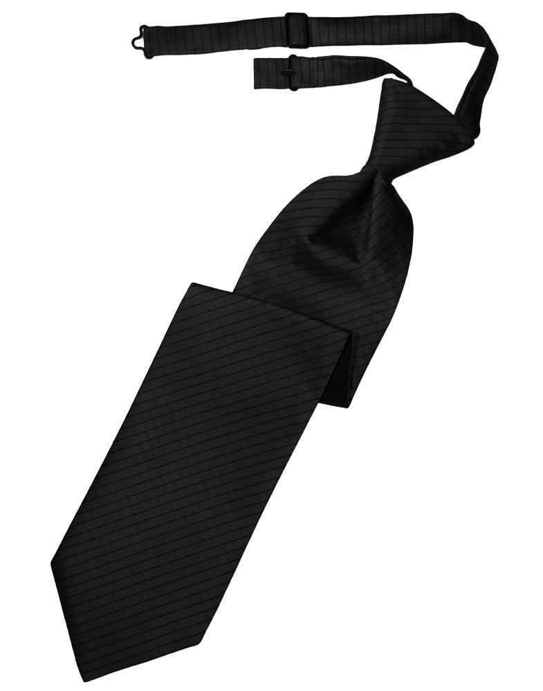 Black Palermo Windsor Tie