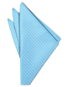 Blue Ice Palermo Pocket Square