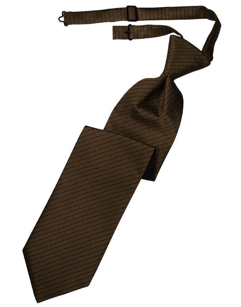 Chocolate Palermo Kids Necktie