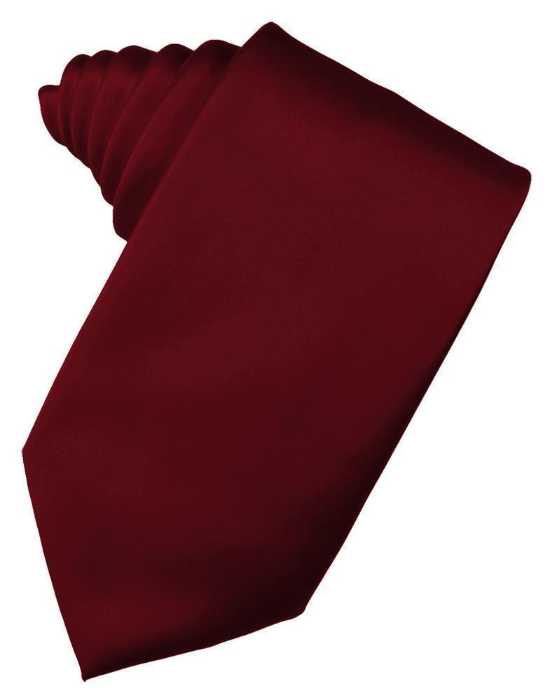 Apple Luxury Satin Necktie