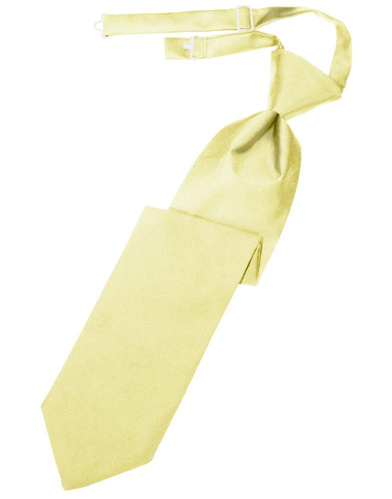 Banana Luxury Satin Kids Necktie