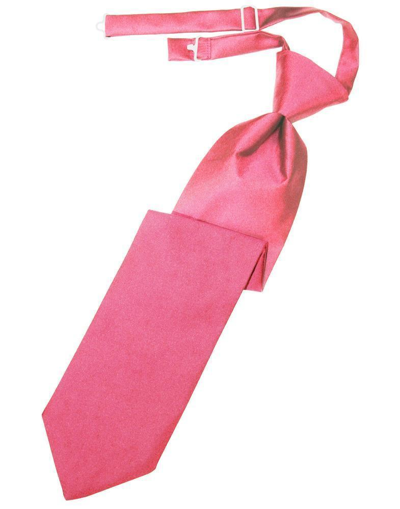 Bubblegum Luxury Satin Kids Necktie