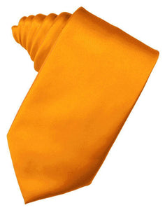 Mandarin Luxury Satin Necktie