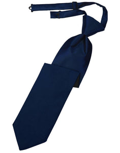 Marine Luxury Satin Necktie