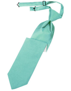 Mermaid Luxury Satin Kids Necktie