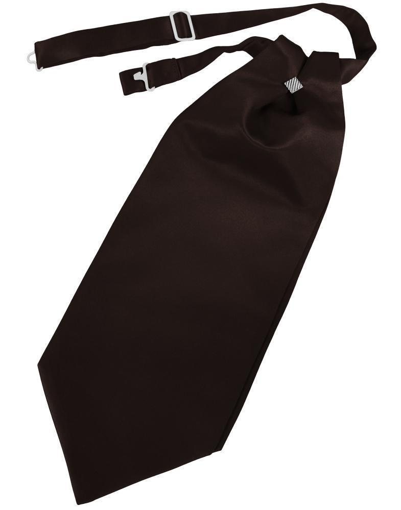 Truffle Solid Satin Kids Cravat