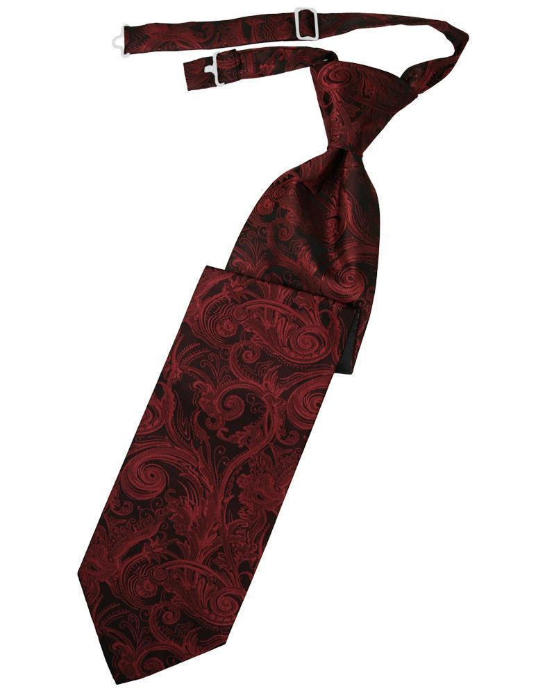 Apple Tapestry Kids Necktie