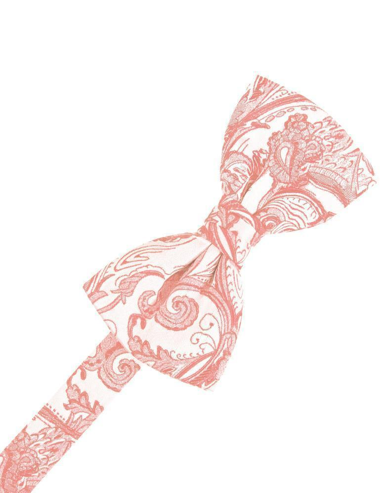 Coral Reef Tapestry Bow Tie