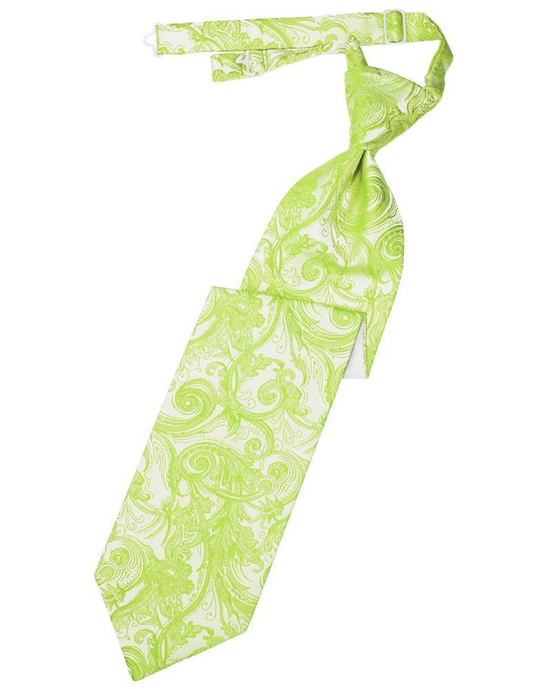 Lime Tapestry Kids Necktie
