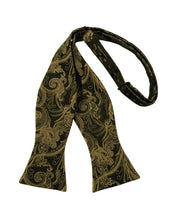 New Gold Tapestry Bow Tie
