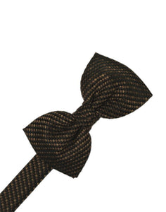 Chocolate Venetian Bow Tie