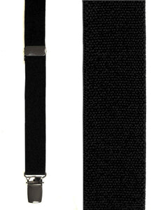 """Black Oxford"" Suspenders"