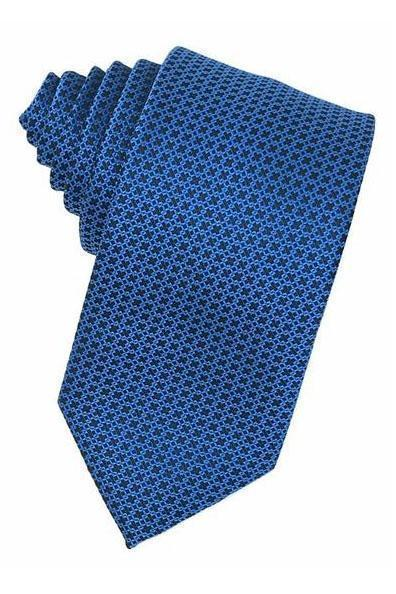 Blue Regal Necktie