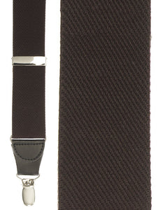 """Brown Twill"" Suspenders"