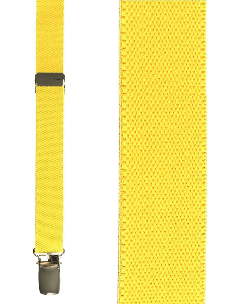 Kids Canary Oxford Suspenders