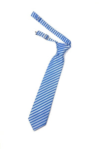 Blue Newton Stripe Kids Necktie