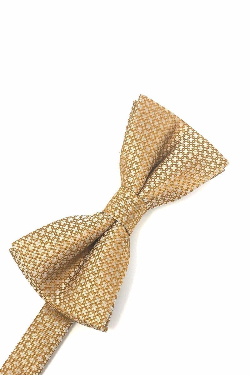 Gold Regal Bow Tie
