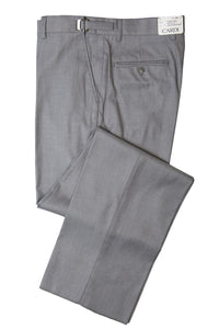 """Ethan"" Kids Heather Grey Super 150's Luxury Viscose Blend Suit Pants"