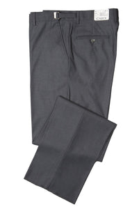 """Ethan"" Kids Steel Grey Super 150's Luxury Viscose Blend Suit Pants"