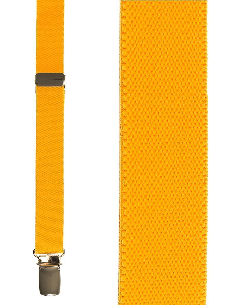 Kids Gold Oxford Suspenders