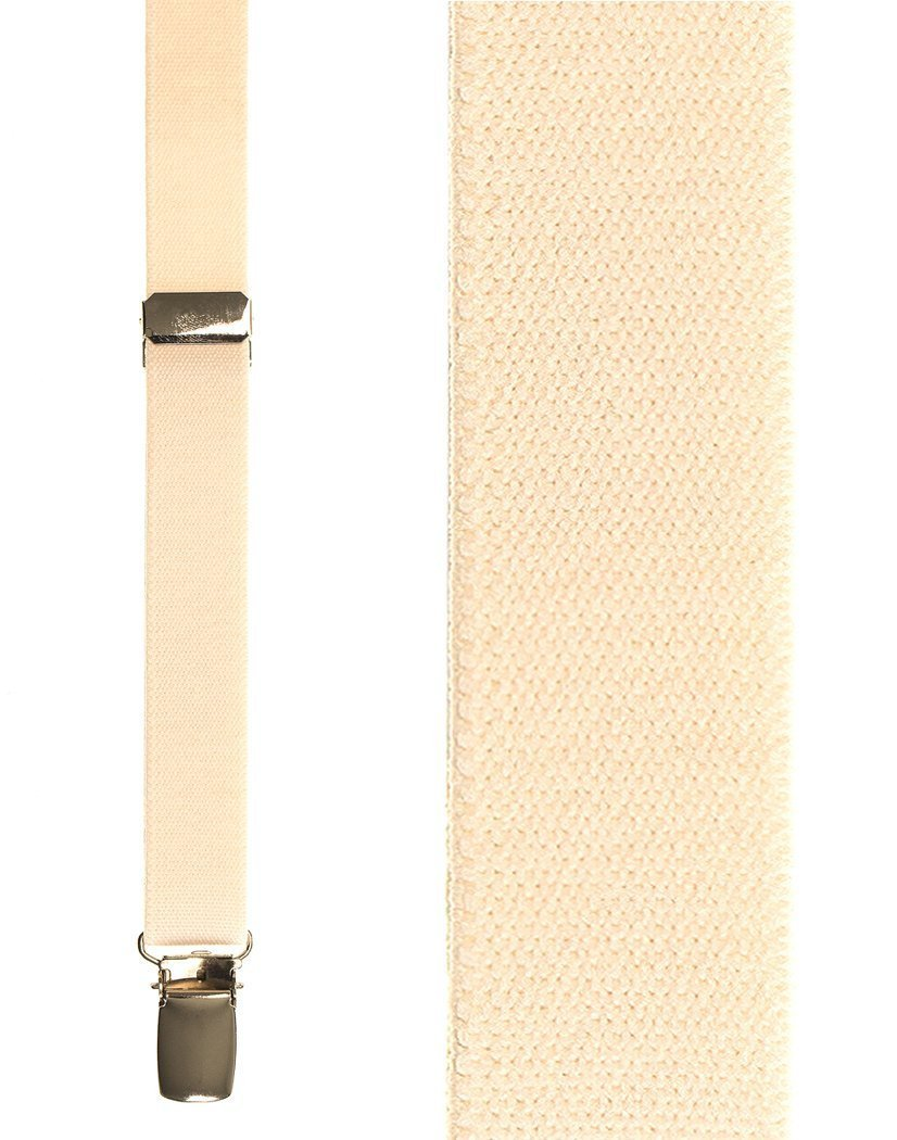 Kids Ivory Oxford Suspenders