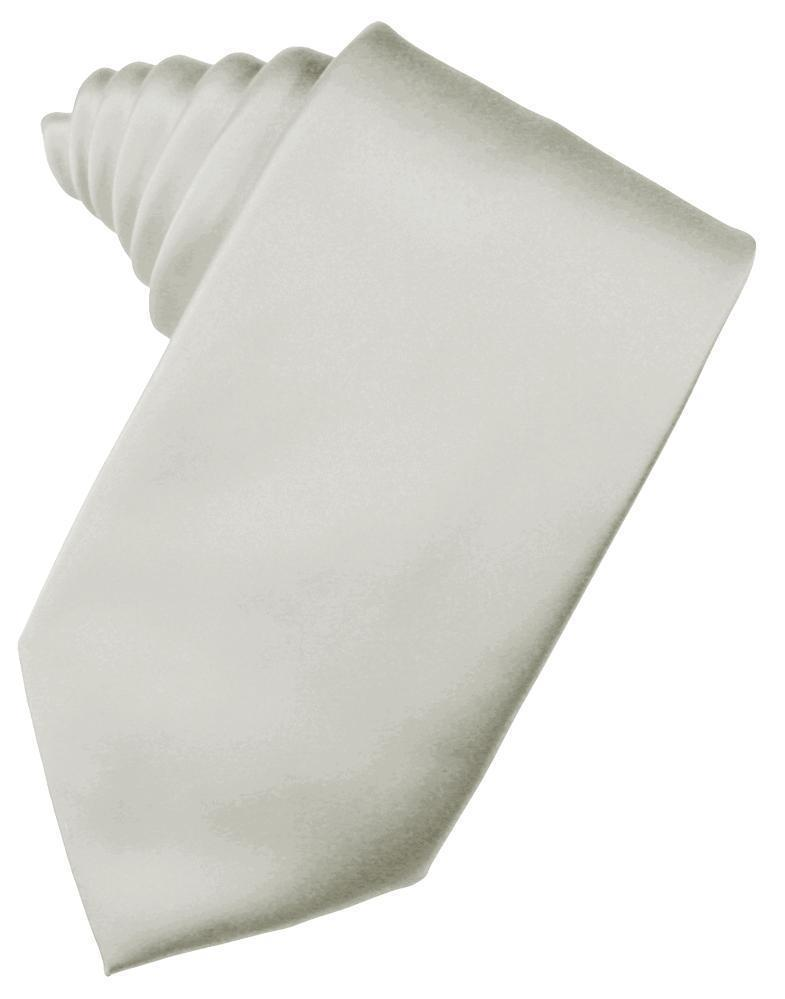 Platinum Noble Silk Necktie