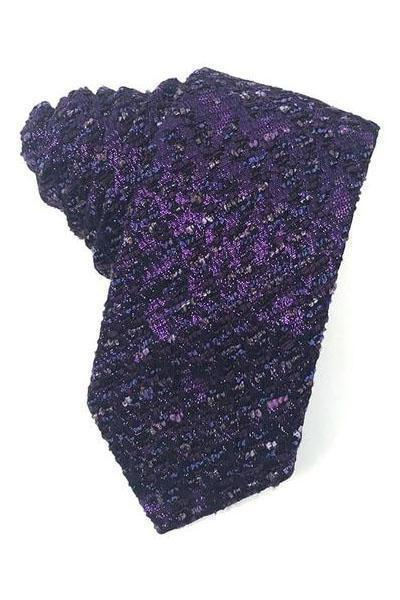 Purple Laurent Necktie
