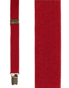 """Red Oxford"" Suspenders"