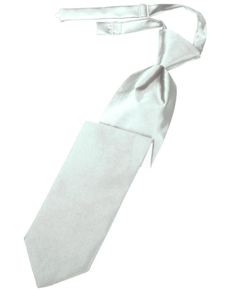 Sea Glass Luxury Satin Kids Necktie