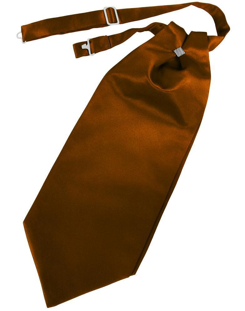 Cognac Luxury Satin Cravat