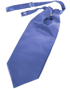 Cornflower Luxury Satin Cravat