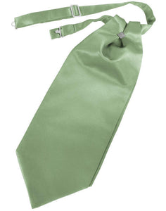 Sage Luxury Satin Cravat