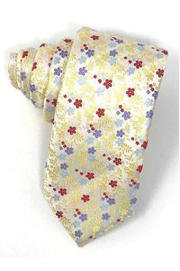 Yellow Enchantment Necktie