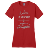 Red Believe In Yourself T-Shirts
