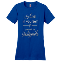 Blue Believe In Yourself T-Shirts