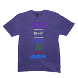 Heather Purple Resting Bitch Face Tshirts